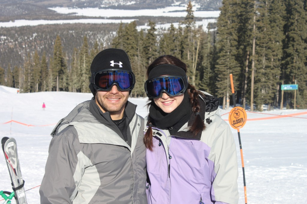 Skiing in Angel Fire, NM